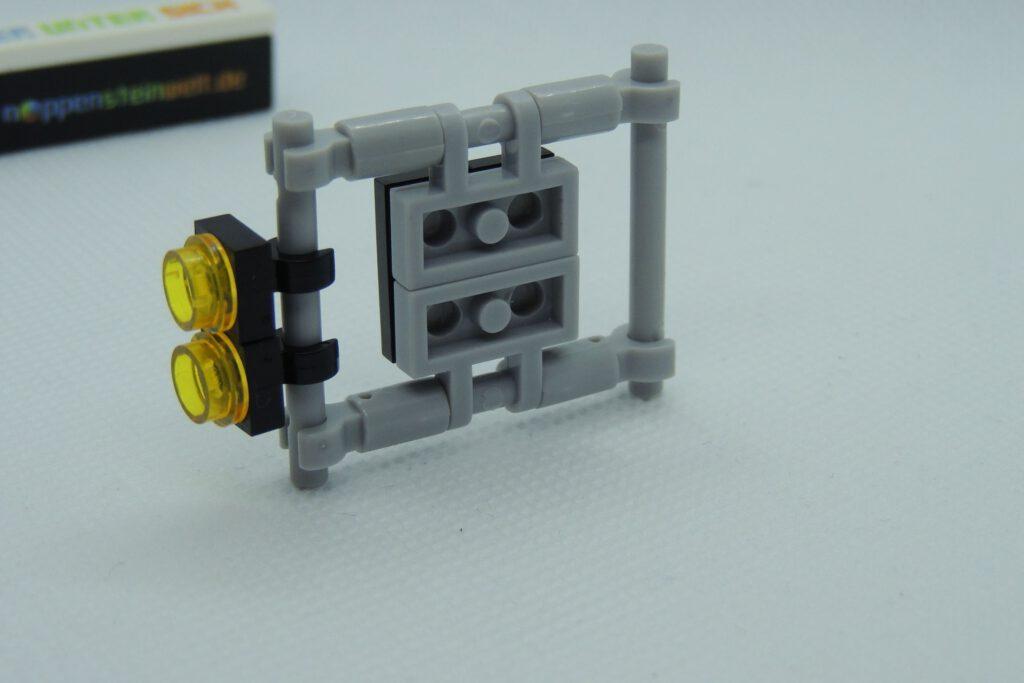 Nachbau jedoch mit Lego nur in Dark Bluish Gray.
