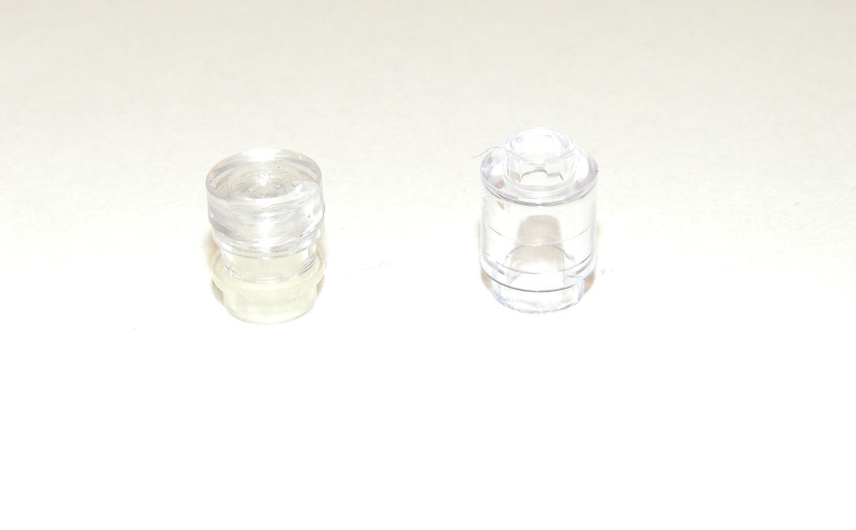 Vergleiche Roundbrick - durch die leicht trübe Transclearplate von Cobi wirkt es wie befüllt.