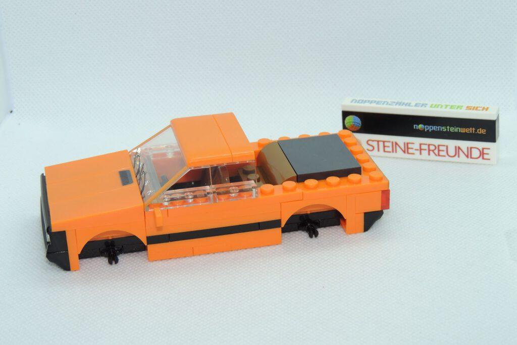Noch kann man einen Pickup oder ein Cabrio draus bauen.
