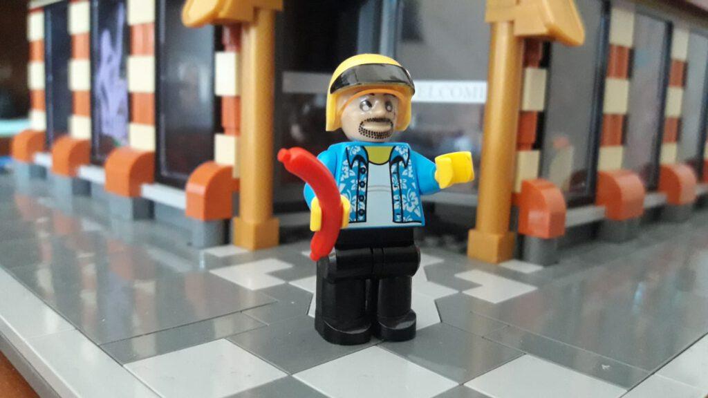 Kopf Cobi, Torso Lego, Beine Xingbao - Panik!!