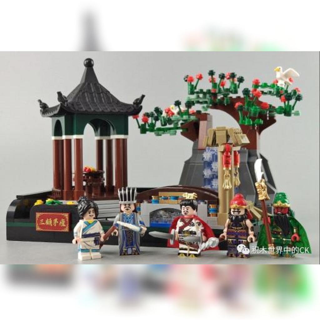 Decool und die drei Reiche oder Liu Bei und Zhuge Liang.