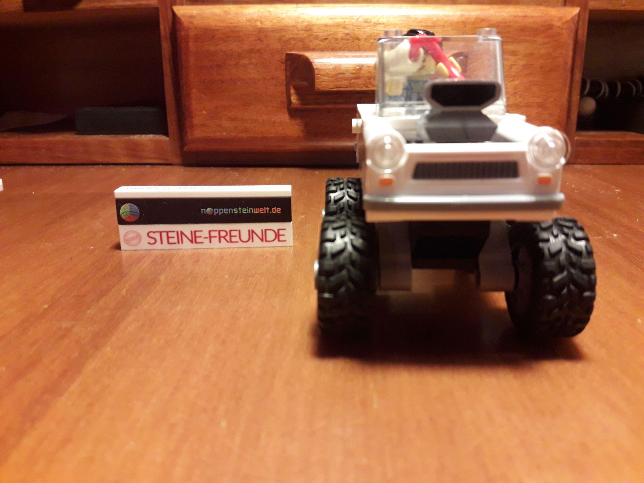 Tada, ein Trabant Monster Roadster.