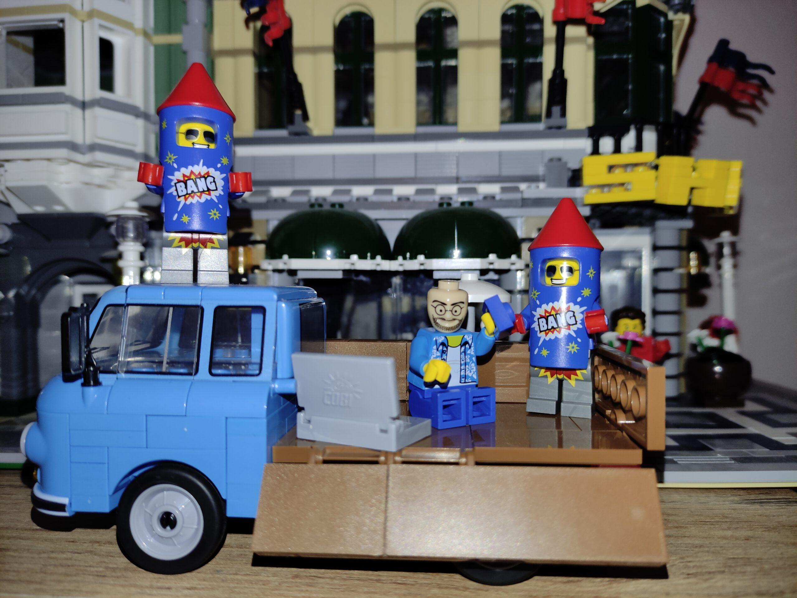 Wir haben gewartet – Klaus hat geliefert (Lego ./. Bluebrixx)