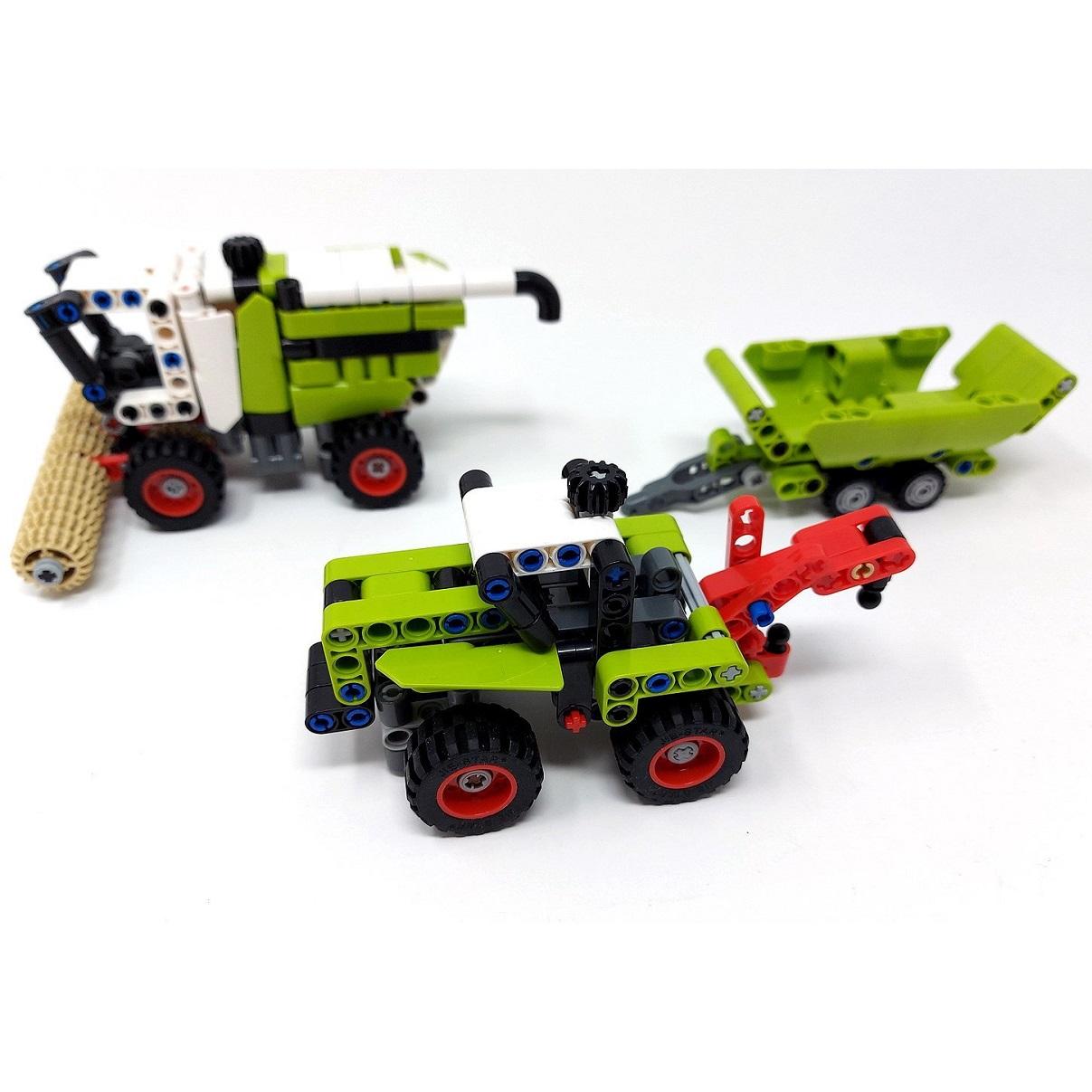 Resi, i hol di mit'm Traktor ab...