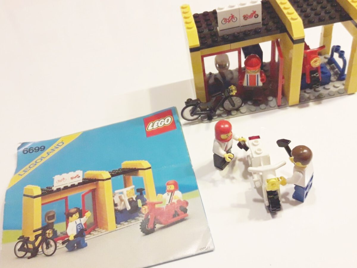 Lego 6699 – Zweiradwerkstatt/Cycle Fix-It Shop