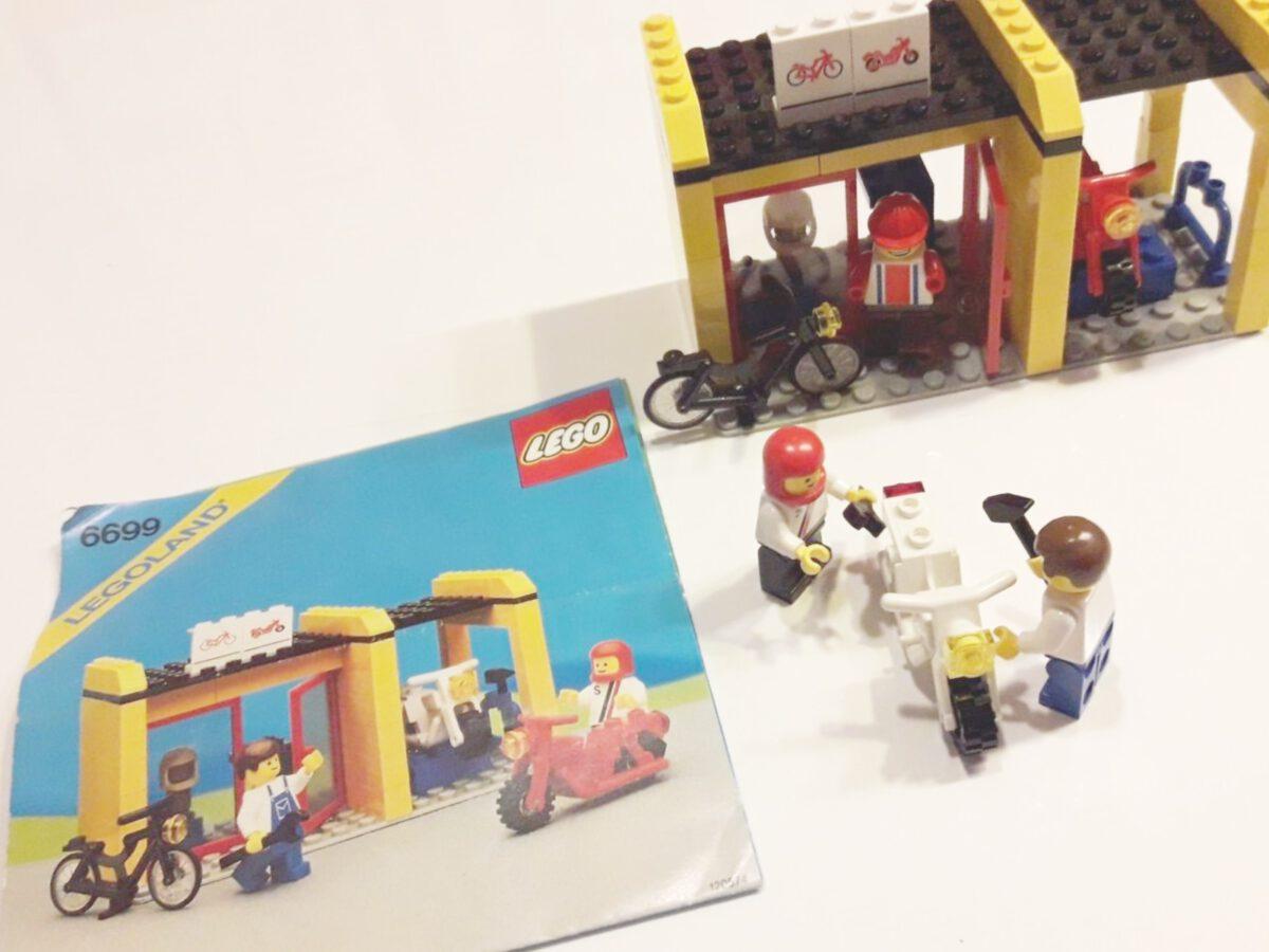 Lego 6699 – Zweiradwerkstatt/Cycle Fix-It Shop
