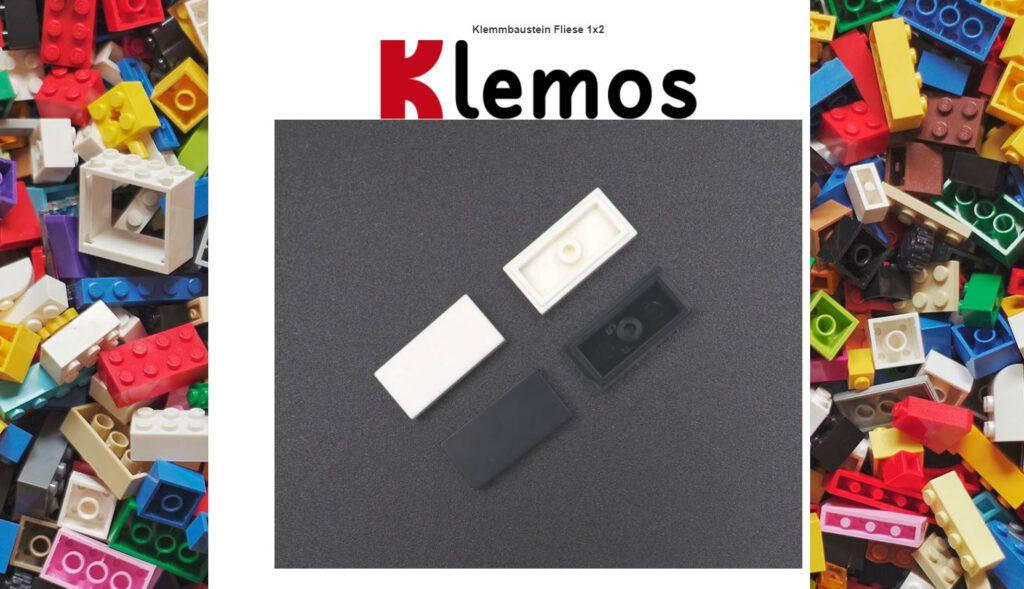Klemos - lose Steine vom Klemmshop.de