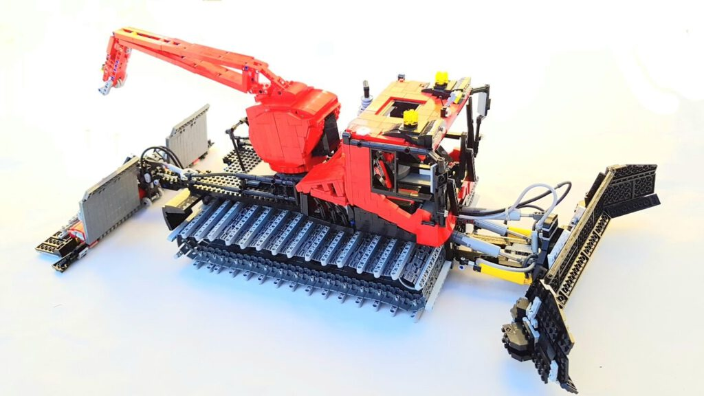 Pistenbully 600 Level Red Finale Version