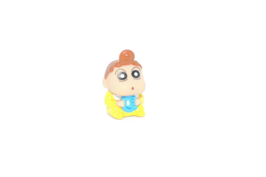 Die Figur von Himawara hat unten einen Noppenaufnahme.