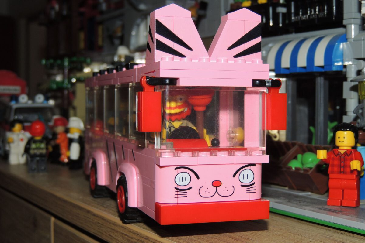Oxford JG3621 – Shin Chans Kindergartenbus (Teil 4)