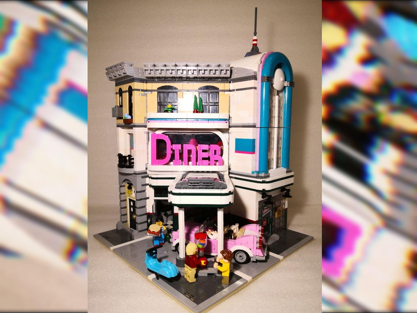 Diner meets Corner Garage. MOC oder Mod?