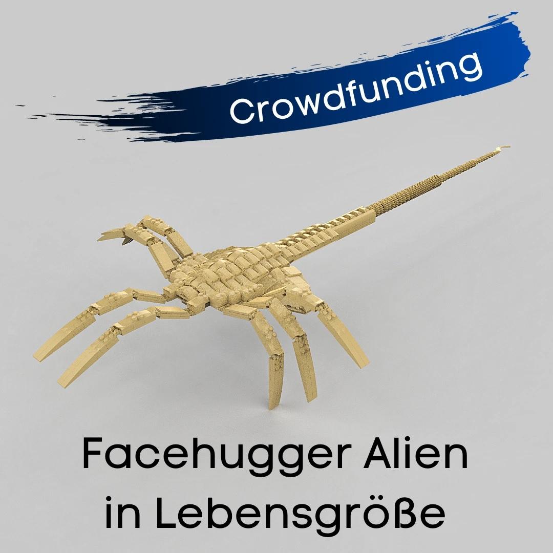 Facehugger oder die parasitäre Lebensform des Xenomorphen.