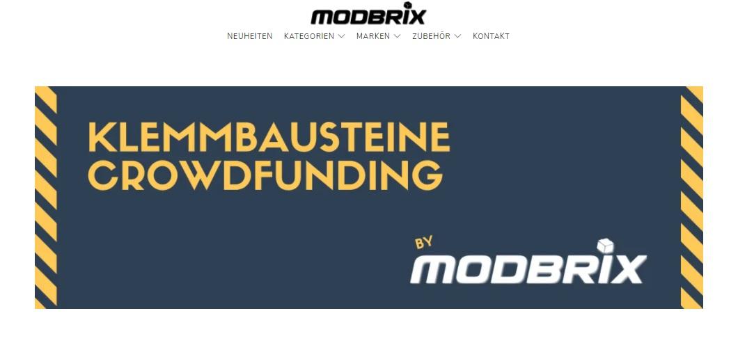 Neue Crowdfundingplattform für MOC-Designer von Modbrix