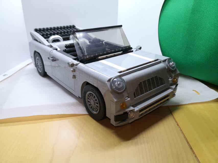 B-Modell vom Lego-Set 10262 - nur nicht aus Legosteinen.