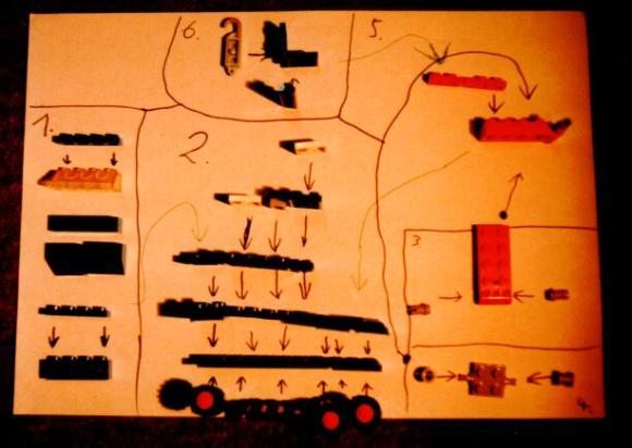 Eine DIY-Bauanleitung aus den 80ern - Abfotografiert damals.