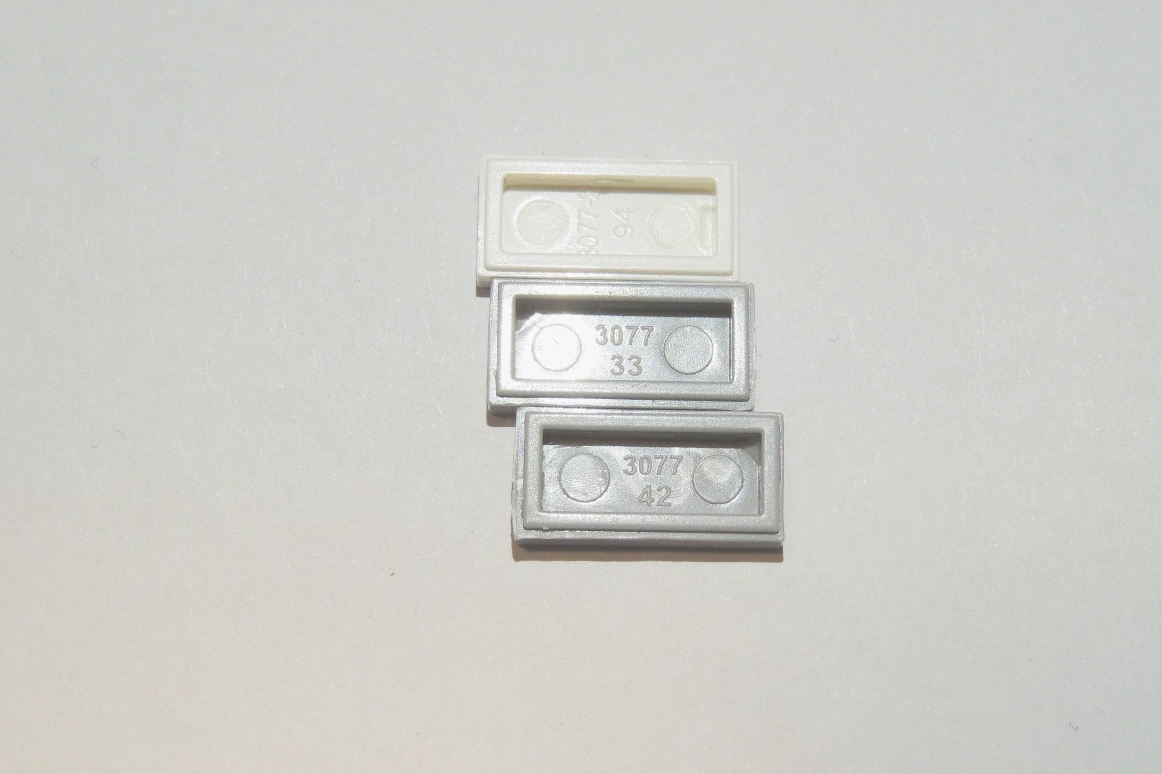 Drei Varianten, alle 3077 von Qun Long.