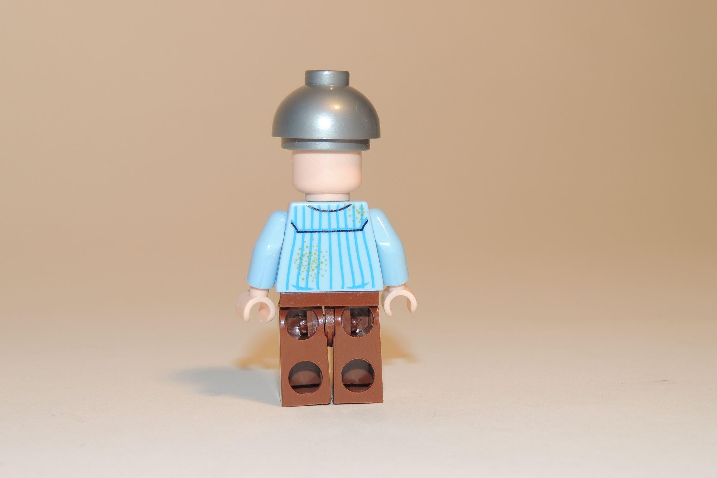 Rückseite der Figur - Bedruckt.