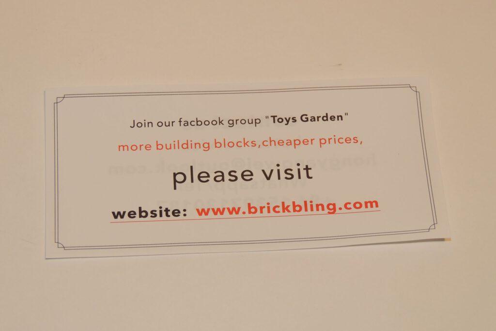 Toys Garden via Facebook oder brickbling.com