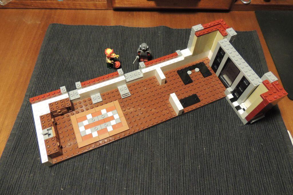 Bauschritt 215, mal so mittendrin im ersten Stock.