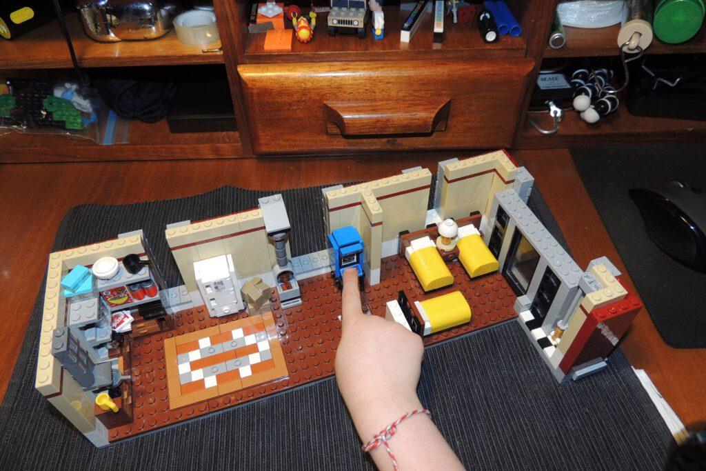 Ende Bauabschnitt sieben - Das Engerl liebt die Arcadebox.