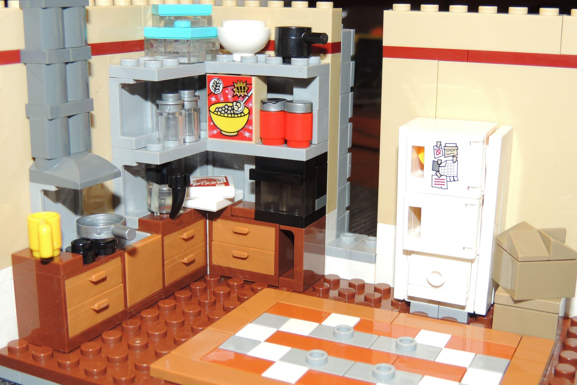 Schade, dass die Küche rausfliegen wird für den Umbau.