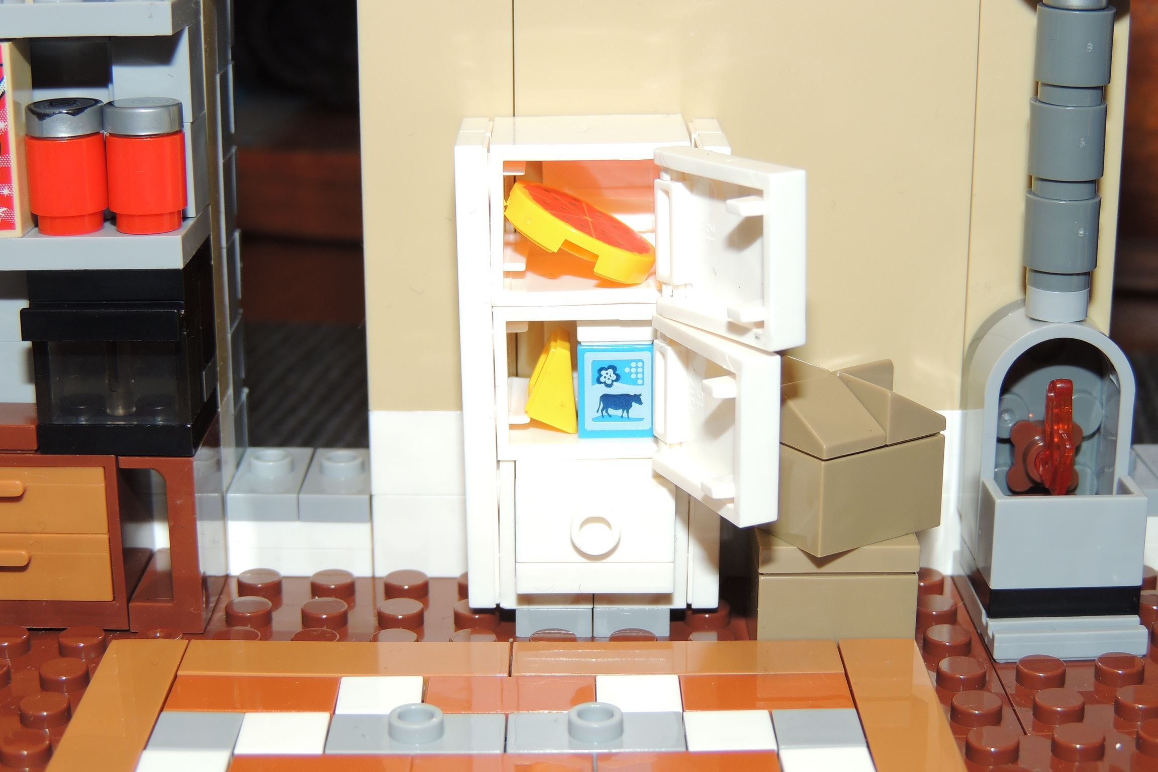 Freu mich, wenn der Kühlschrank dann umgezogen ist.