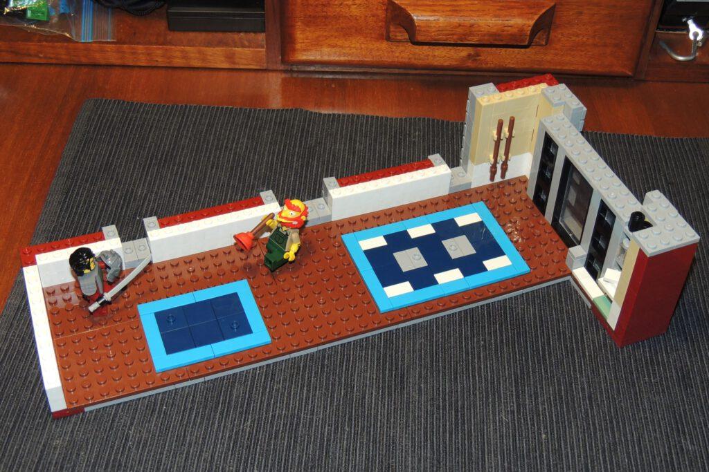 Bauschritt 383, Ende Bauschritt zehn.