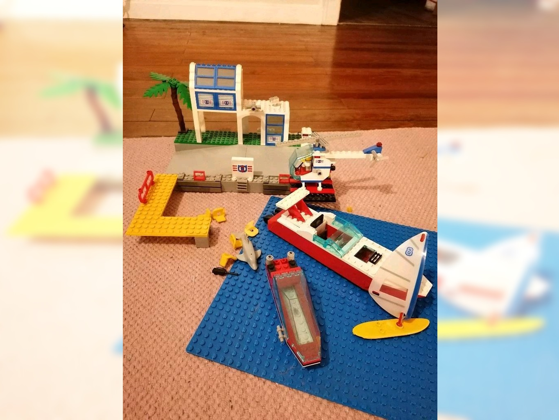 Unvollständig aber vielversprechend: Lego 6338 von 1995.