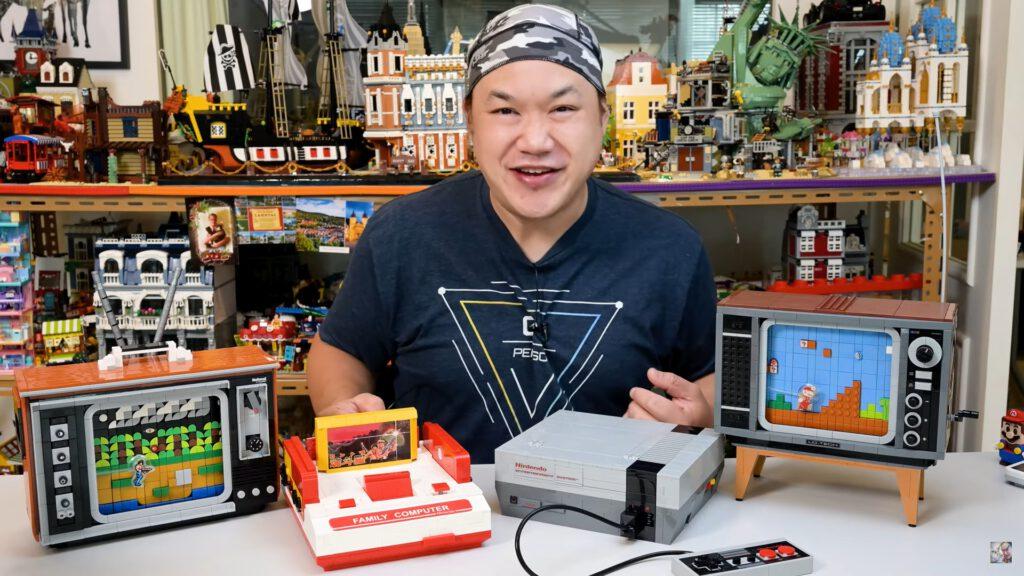 Scottie Hui stellt auch Lego auf seinem Kanal vor.