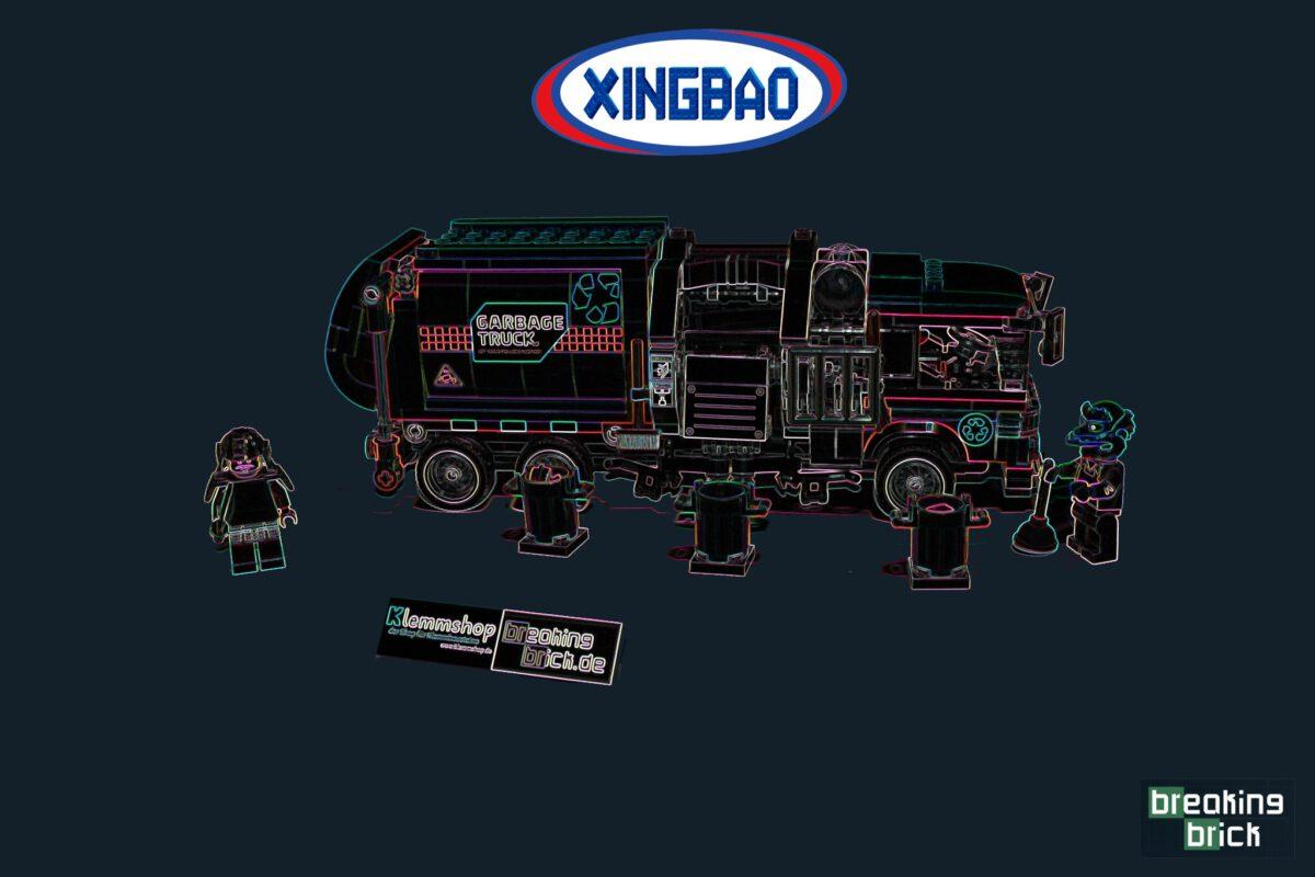 Xingbao XB-18017 – Garbage Truck (Müllfahrzeug Orange)