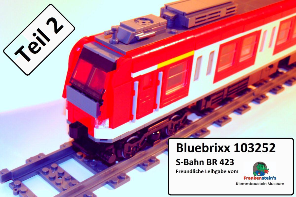 Bluebrixx 103252 – S-Bahn BR 423 (Teil 2)