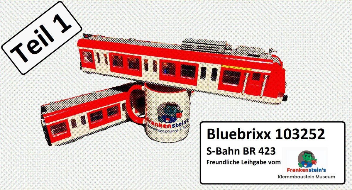 Bluebrixx 103252 – S-Bahn BR 423 (Teil 1)
