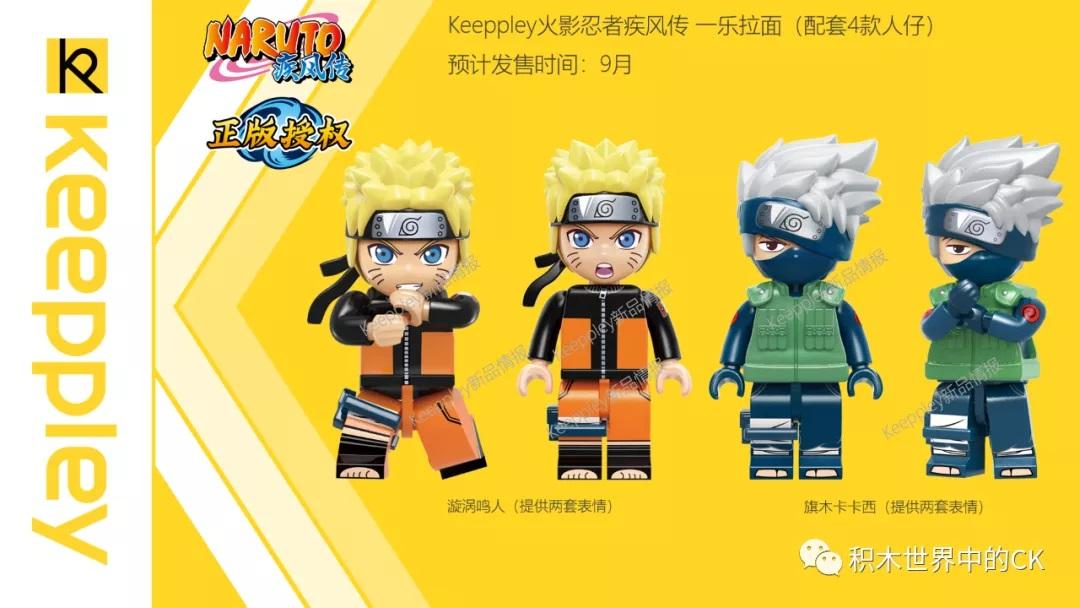 Da isser, Naruto (Iinks) - wie der andere Kamerad heißt, ist mir nicht bekannt.