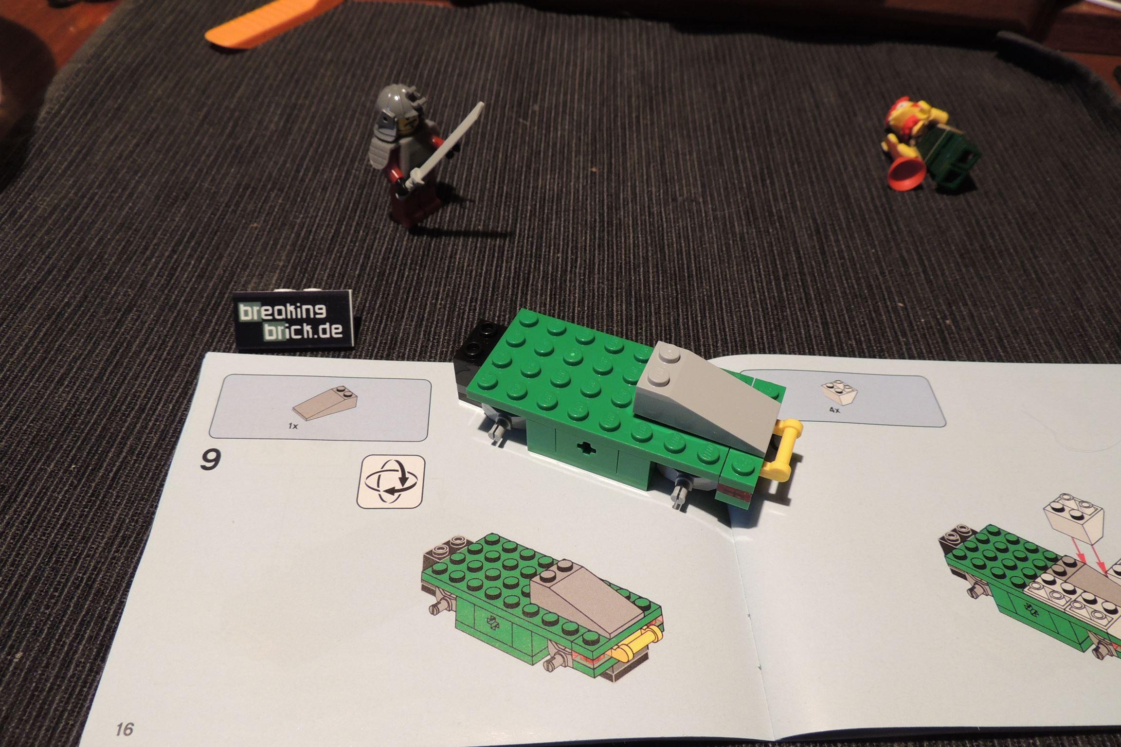 Bauschritt neun schmeißt sogar den Pömpelmeister um!