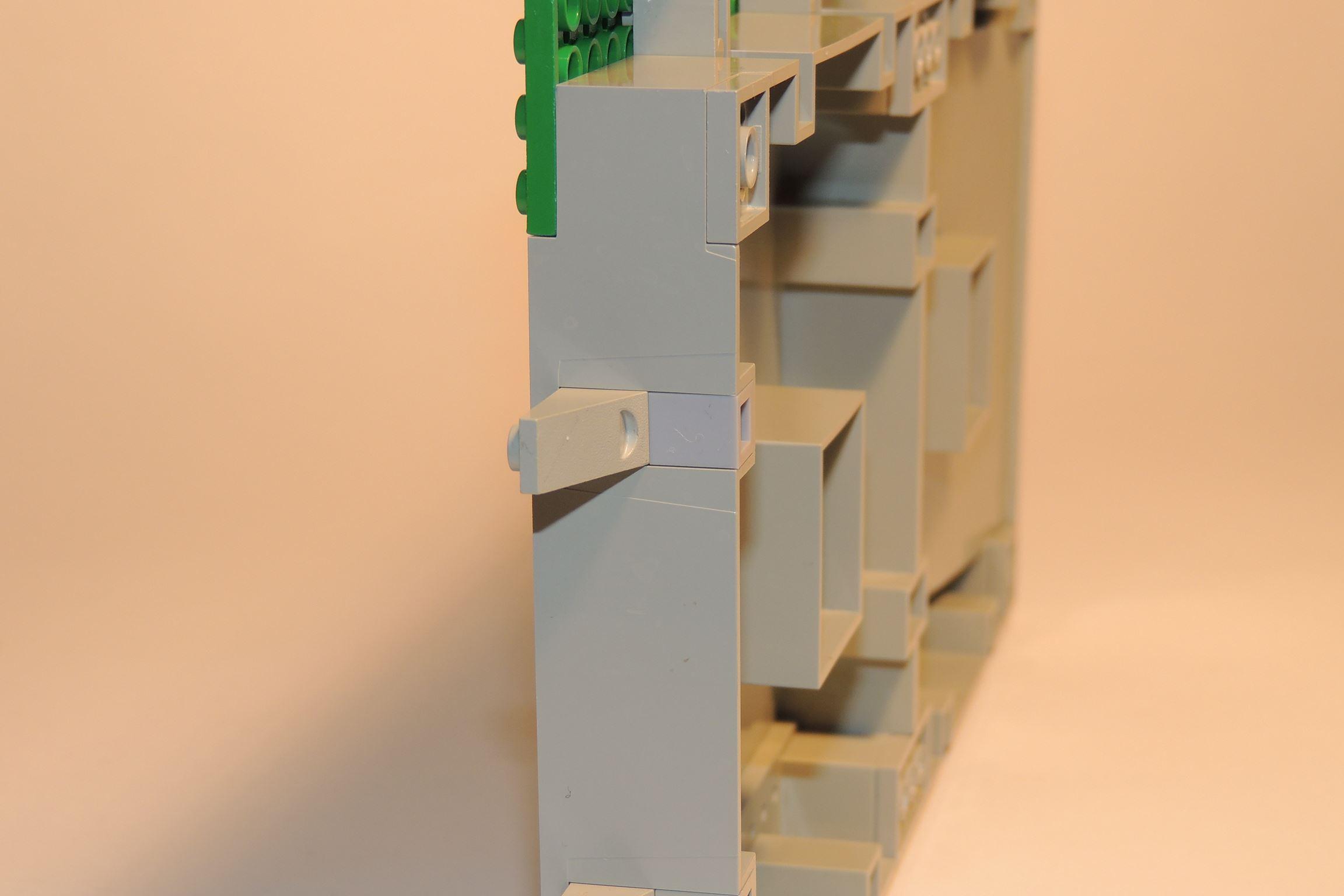 1×1 Brick in LBG von Steinchenexpress (Hafenanlage BS 4).