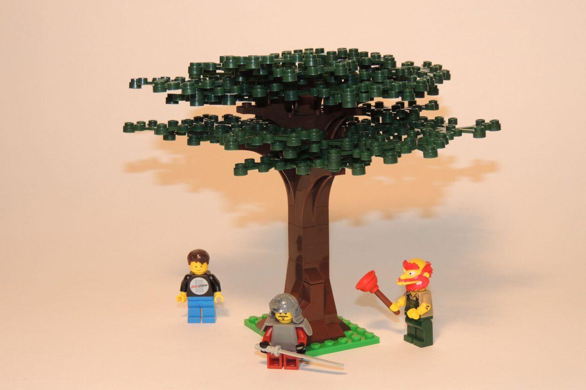 Steinchenshop ST-99004 – Großer Baum dunkelgrün