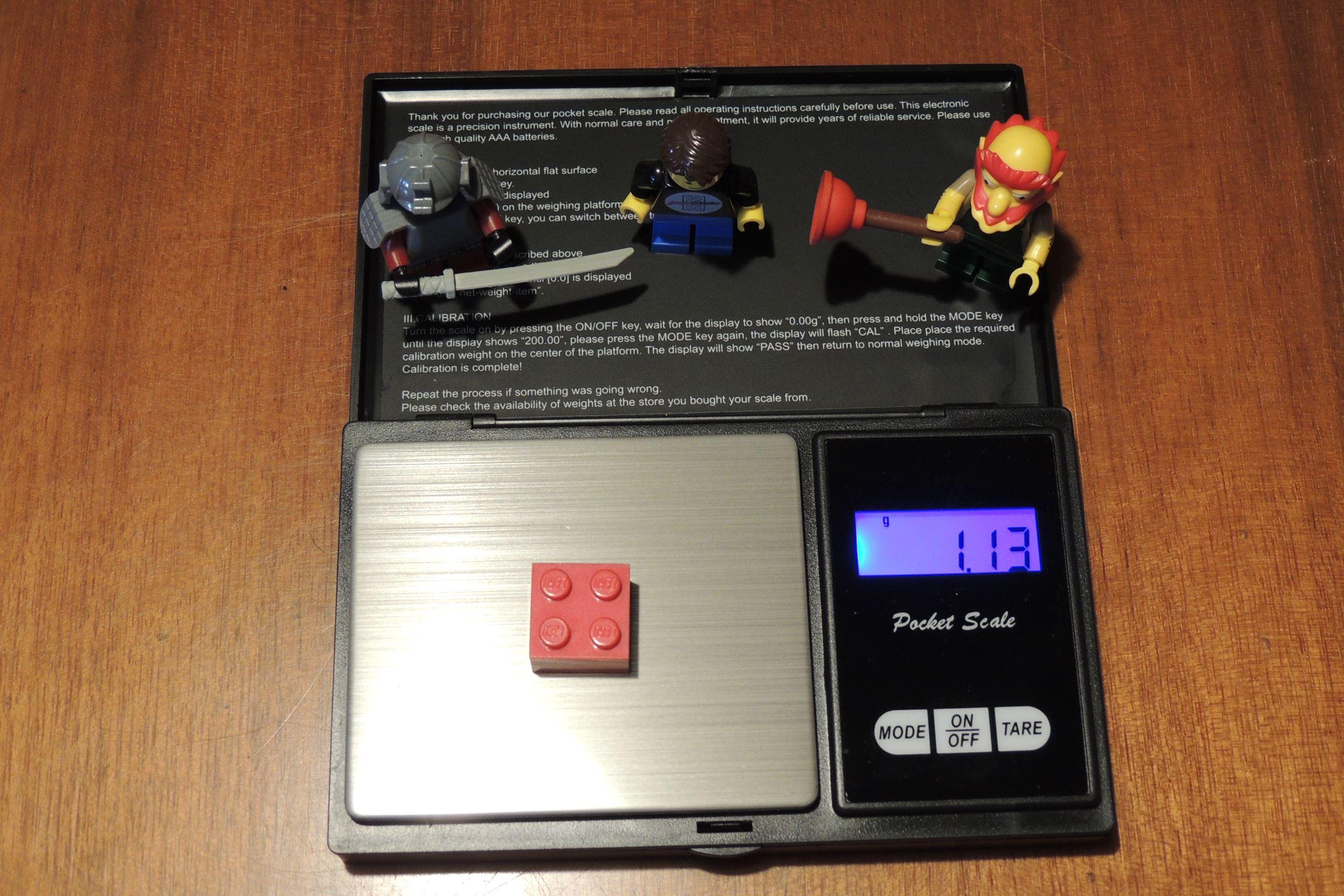 2×2 von Lego (neu).