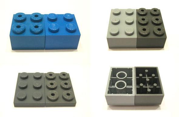 """Lego vs. Tente. Manche """"illegale"""" Bautechniken gehen bei Tente nicht."""