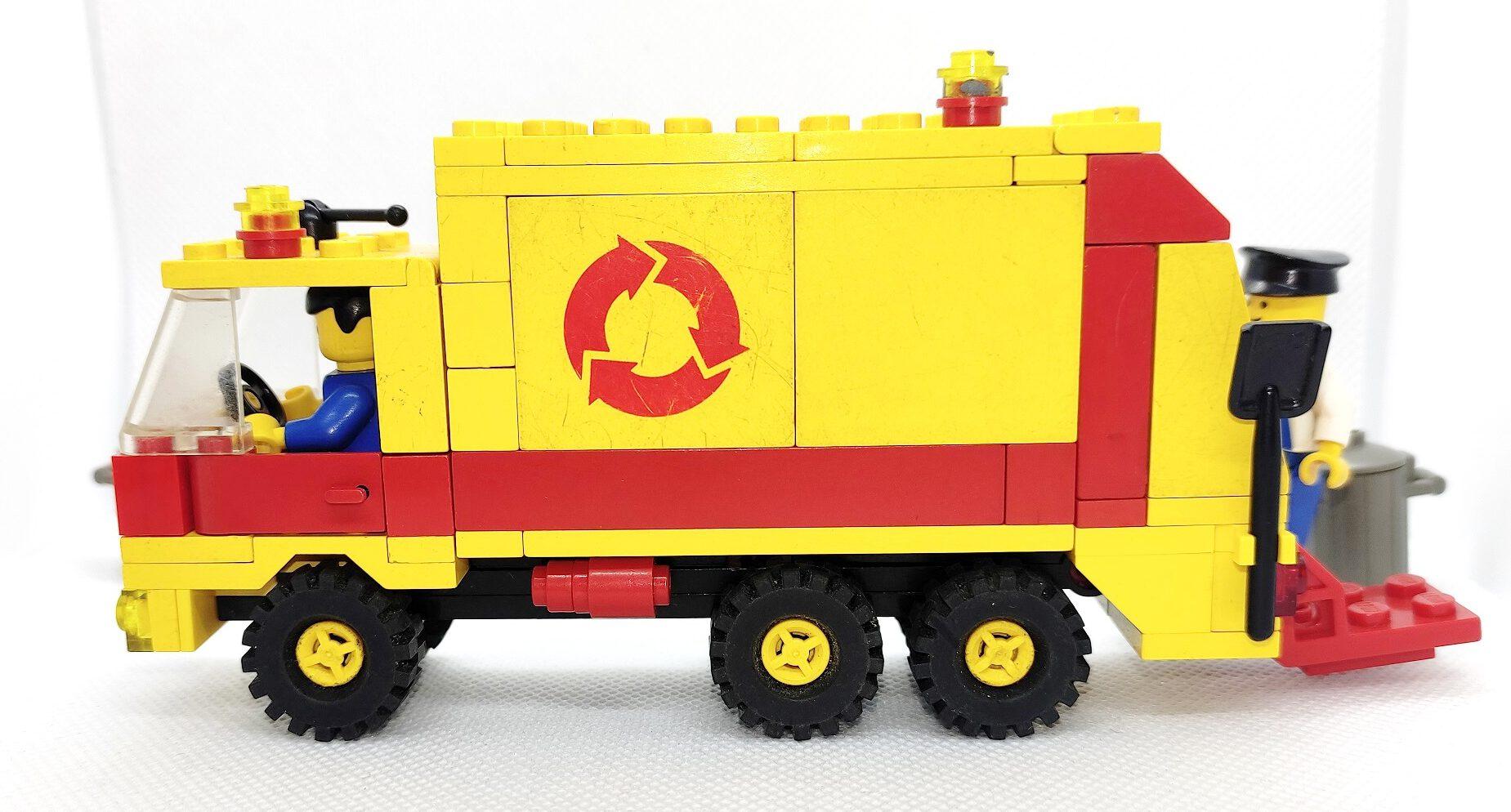 Lego 6693 - Recycling Truck von 1987