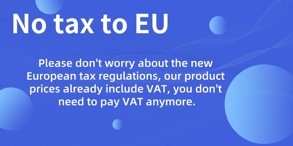 Bevor einer fragt, Einfuhrumsatzsteuer bereits entrichtet bei Joy.