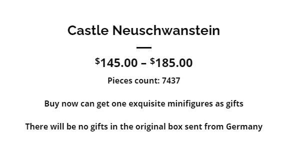 Sonderangebot Neuschwanstein bei jointoy.com