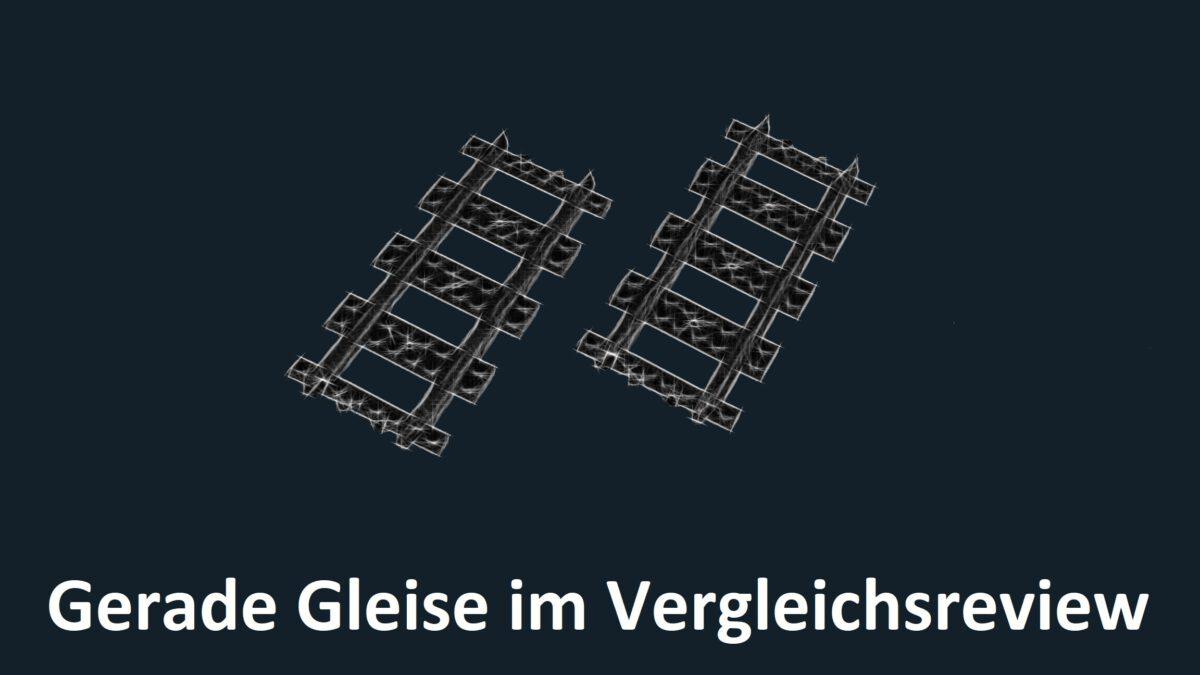 Steinchenshop ST-98004 – 30 Geraden vs. Lego 60205 – Schienen