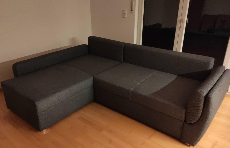 Es wurde eine Couch.